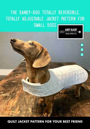Dandy Doo Jacket Pattern for Small Dogs AEQCJS0219