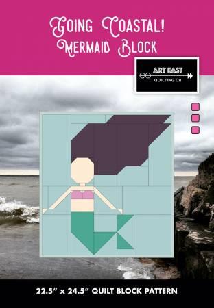 Going Coastal! Quilt Mermaid Block