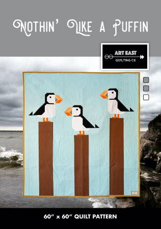 Nothin' Like a Puffin Quilt Pattern AEQCNP0918