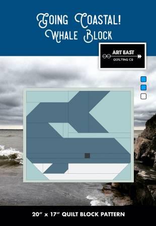 Going Coastal! Quilt Whale Block