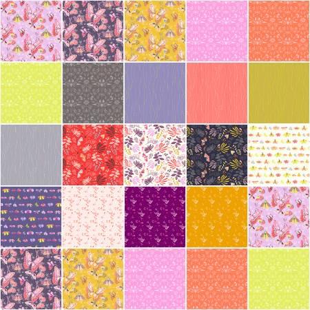 Aerial - Fat Quarter Bundle 19pc/bundle - By Tamara Kate For Windham Fabrics