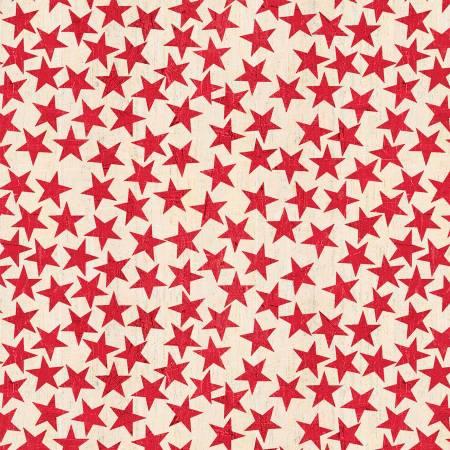American Farm Light Red Stars