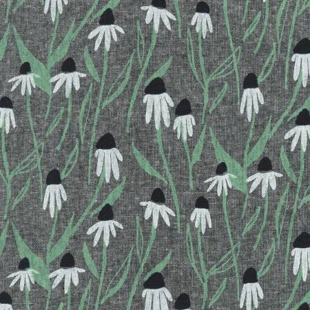 Echinacea in Black
