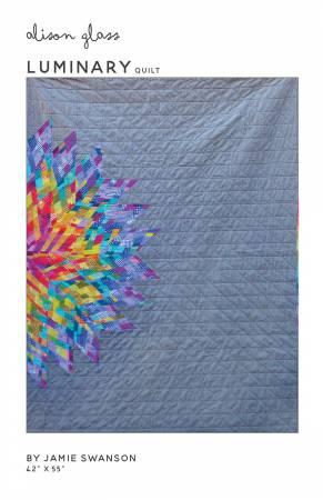 Luminary Quilt Pattern - 42 x 55