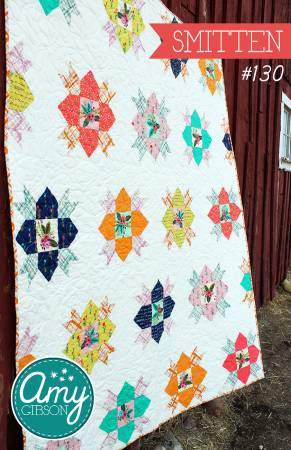 Smitten Quilt Pattern by Amy Gibson