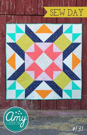 Sew Day Quilt Pattern by Amy Gibson