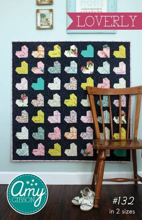 Loverly Quilt Pattern by Amy Gibson