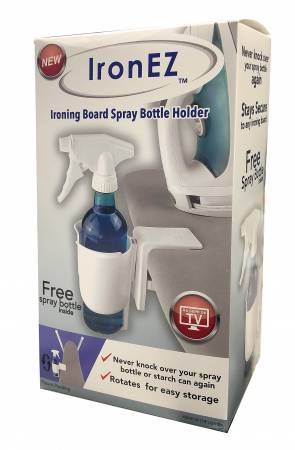 IronEZ Ironing Board Spray Bottle Holder