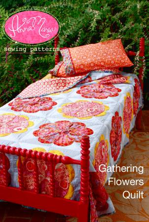 Gathering Flowers Quilt - Pattern