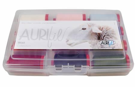 Aurifil Home Collection Wool 12 Large Spools 12wt Wool