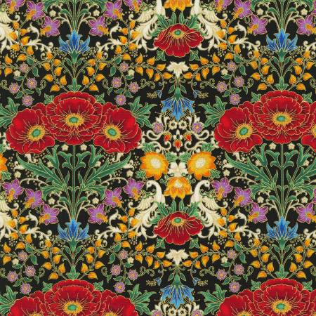 FAB Mutli Garden Floral w/Metallic