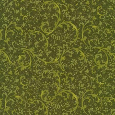 Swirls Green Harvest w/Metallic