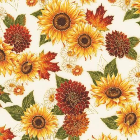 Autumn Bouquet AHYM-19855-125 Flowers Sunflower Autumn