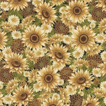 Flowers Vintage Autumn w/Metallic