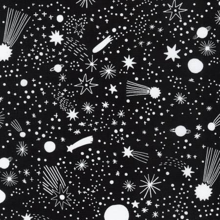 Black Shooting Stars