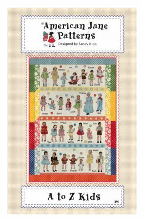 A to Z Kids American Jane Patterns