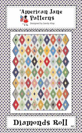 Diamonds Roll - Jelly Roll Quilt