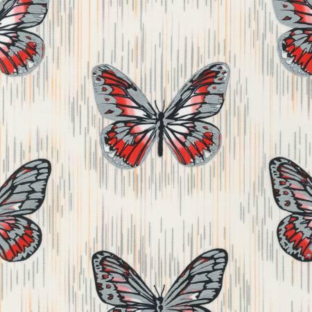 Shimmer - White Butterfly Metallic