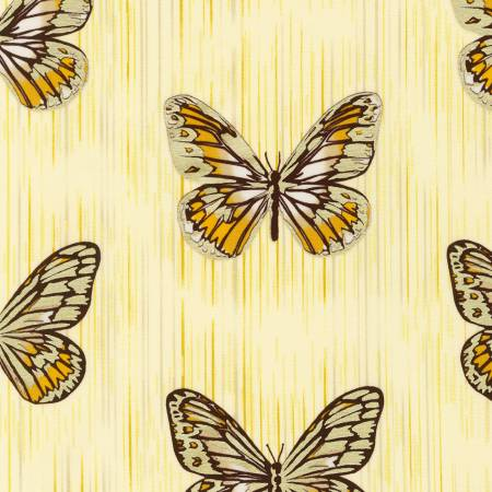 Spring Shimmer - Marigold Butterfly
