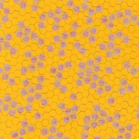 Spring Shimmer - Marigold Honeycomb