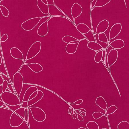 Spring Shimmer - Fuchsia Floral