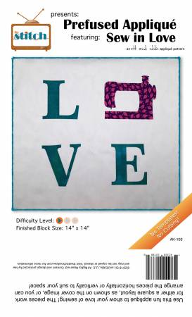 Sew in Love Pre-Fused Applique Kit