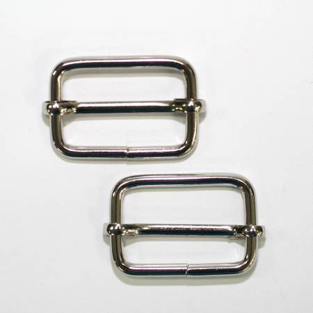 Rectangle Buckle Slider 1-3/16