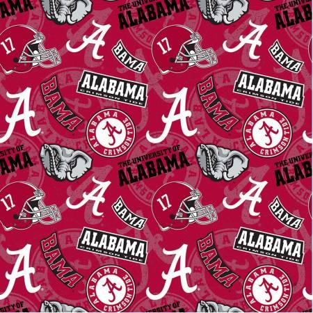 NCAA Alabama Tone on Tone Cotton