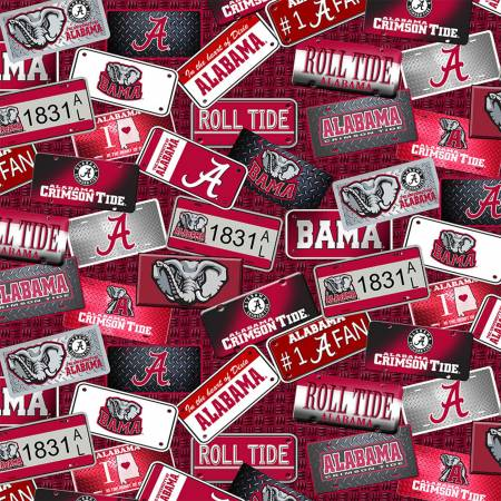 NCAA-Alabama Crimson Tide License Plates