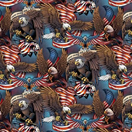 Multi Eagles & Flags