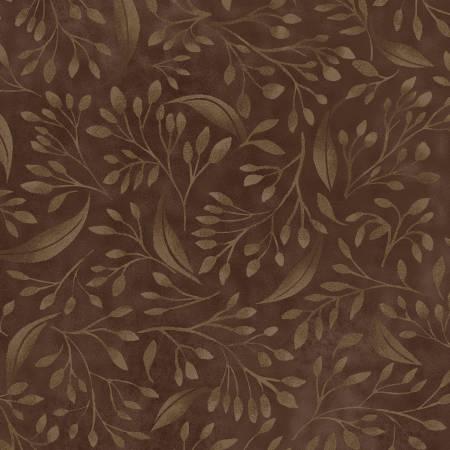 Brown Flourish 108in Wide Back ALEX4394-Z
