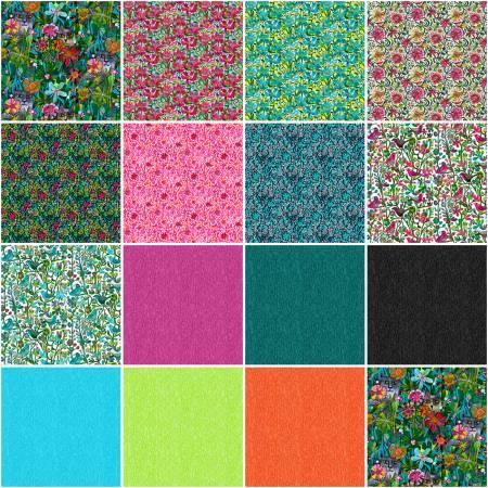 Alfie - Windham Fabrics - 15 Fat Quarter Bundle