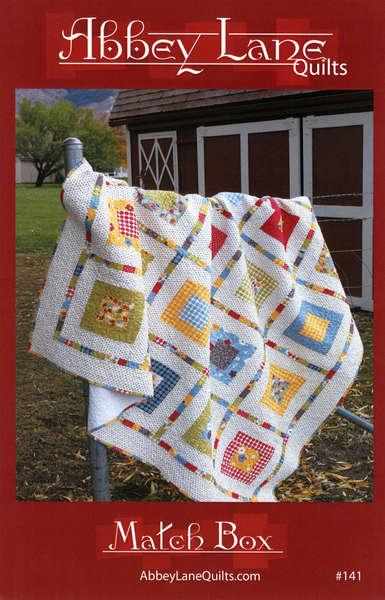 Match Box Quilt Pattern by Abbey Lane Quilts