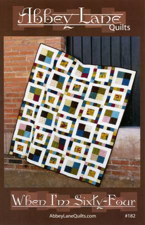 When I'm Sixty-Four Quilt Pattern by Abbey Lane Quilts
