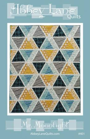 Mr Moonlight Quilt Pattern by Abbey Lane