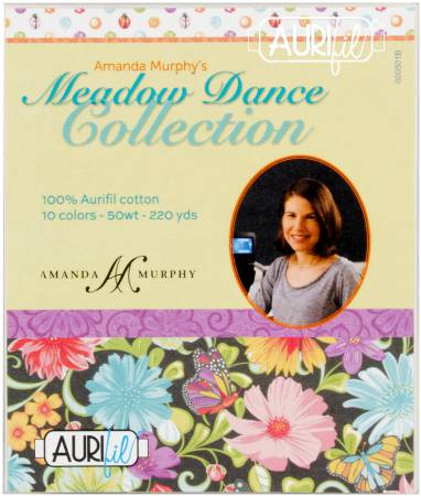 Meadow Dance Collection 50wt 10 Small Spools by Amanda Murphy