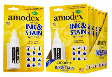 Amodex Ink & Stain Remover Blister Card