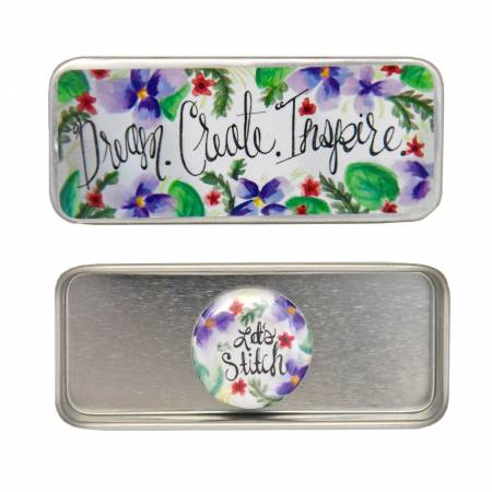 Dream Create Inspire Magnetic Needle Tin