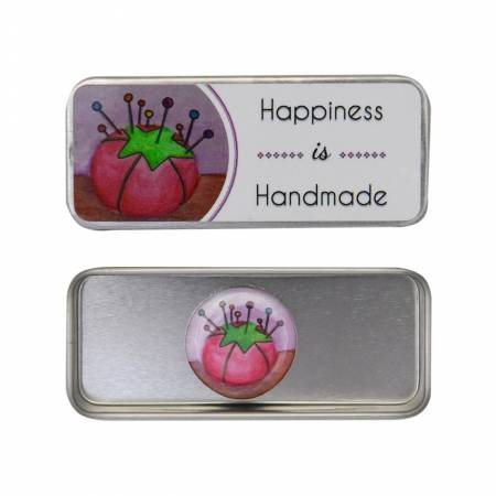 Happiness is Handmade Magnetic Needle Tin