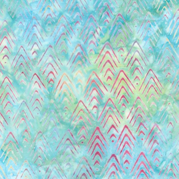 Rainbow Stacked Point Batik