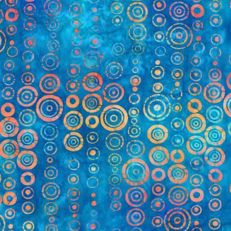 Blue Dot Batik
