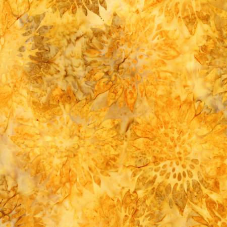 AMD-18791-125 Sunflower Summer Flowers BATIK Robert Kaufman