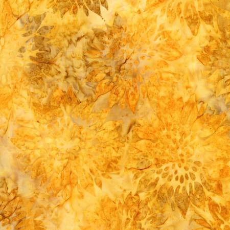 Sunflower Summer Flowers Batik