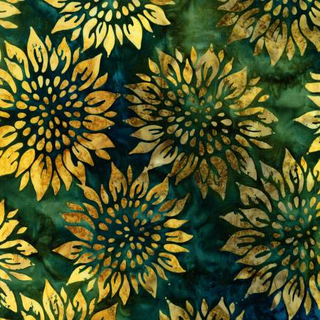 AMD-18791-270 Meadow Summer Flowers BATIK Robert Kaufman
