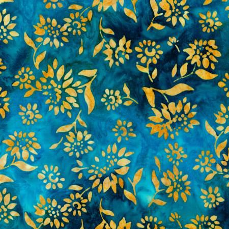 Robert Kaufman Breeze Summer Flowers Batik