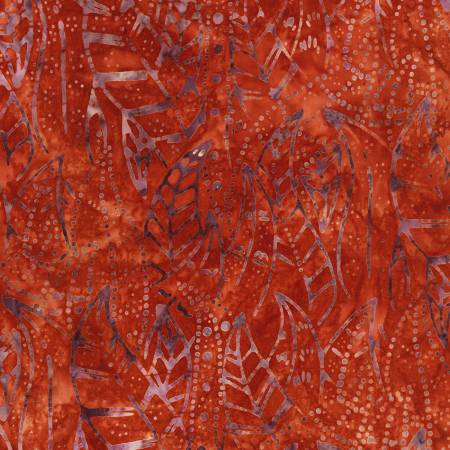 Desertscapes Batik, Cayenne Leaves, by Lunn Studios for Robert Kaufman