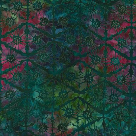 Desertscapes Batik, Nightfall Geometric Triangles, by Lunn Studios for Robert Kaufman