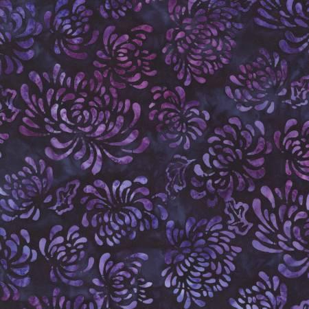 KAUFMAN Purple Batik