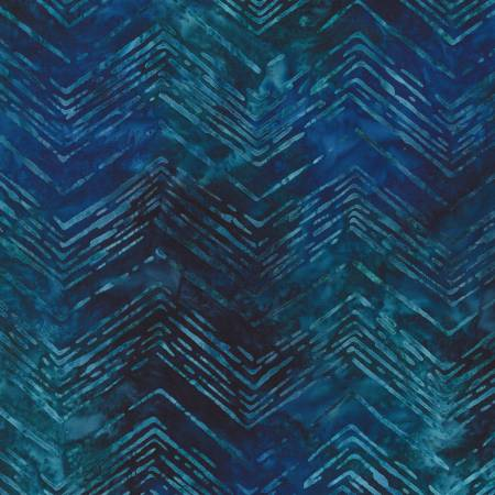 KAUFMAN Blue Batik