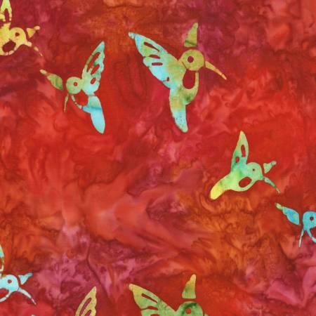 Punch Batik - Hummingbird Lane by Robert Kaufman